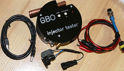 GBO injector tester