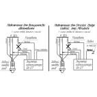 Схема електронного емулятора лямбда зонда