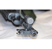 Shooting gallery security system and electronic key