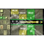 Disparos panel de control de gama