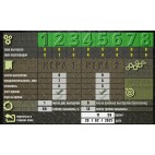 Shooting range control panel