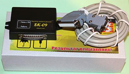 DPF емулятор SK-09 інструкція по по відключенню фільтру сажі