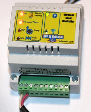 Контроллер гелиосистемы беспроводный